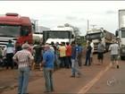 Rodovia de Salto Grande é liberada após protesto de caminhoneiros
