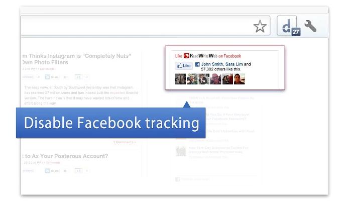 Facebook Disconnect impede que o Facebook rastreie sua navegação na web (Foto: Reprodução/Paulo Alves)