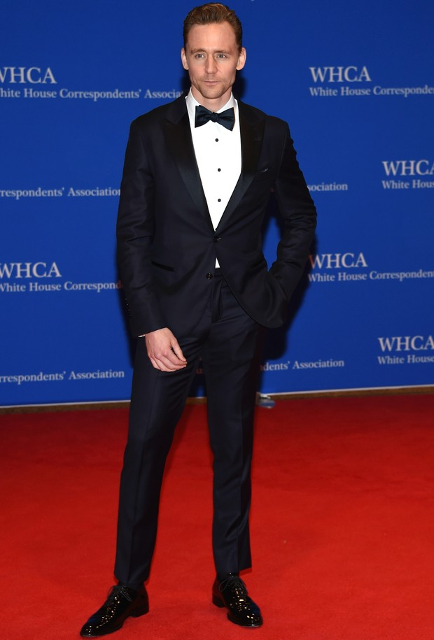 White House Correspondent's Dinner - Tom Hiddleston (Foto: Getty Images)
