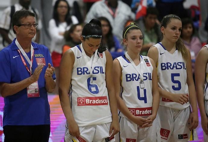 Brasil x Canada final Copa América sub-16 basquete  (Foto: Divulgação / Fiba)