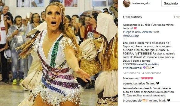 Ivete Sangalo (Foto: Instagram / Reprodução)