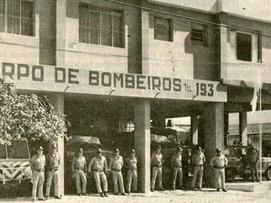 Bombeiros antigos de Montes Claros (Foto: Divulgação)