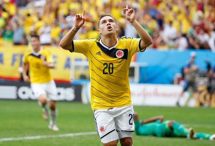 quintero colombia x costa do marfim (Foto: Getty Images)