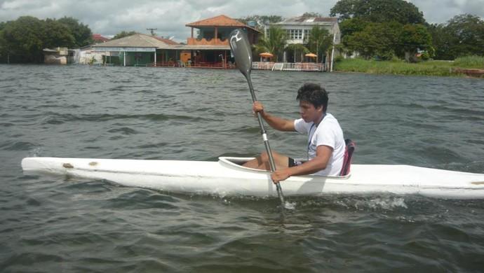 Hericles Miranda, canoagem santarém (Foto: Reprodução/ Facebook)