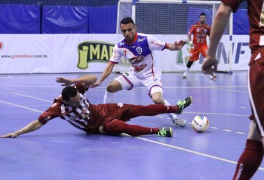 Orlândia x Lajeadense (Foto: Márcio Damião/Orlândia Futsal)