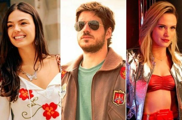 Isis Valverde, Marco Pigossi e Bianca Bin estão no ar em Boogie Oogie (Foto: Montagem sobre fotos/Divulgação/TV Globo)