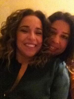 Daniela Mercury e Malu Verçosa em Portugal (Foto: Arquivo pessoal)