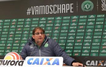 """Guto dá prazo ao Bahia até sexta e ressalta """"cabeça na Chape"""", por ora"""