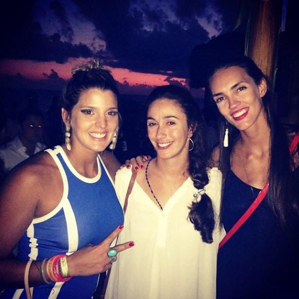 Mari Paraíba, Maria Clara e Fê Berti (Foto: Reprodução / Instagram)