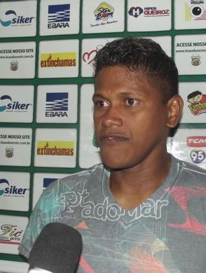 Índio foi um dos destaques da campanha do Baraúnas na Série D (Foto: Bruno Araújo/GLOBOESPORTE.COM)