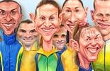 Meu pódio olímpico: escolha seus medalhistas favoritos (infoesporte)