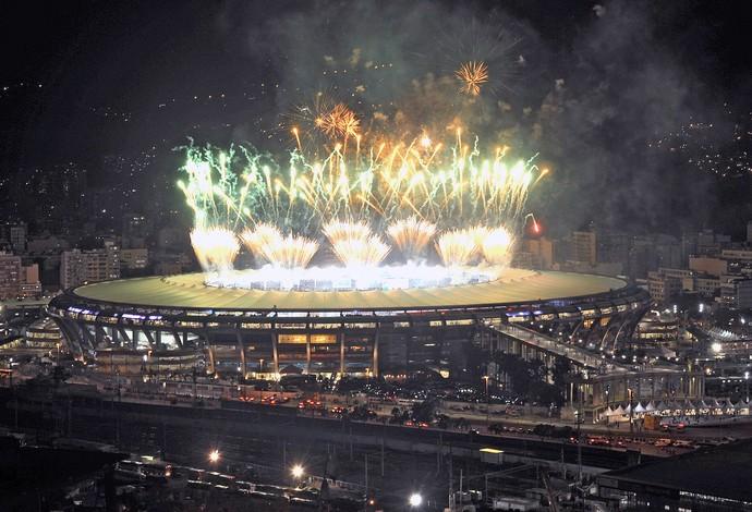 Maracanã festa final Copa do Mundo (Foto: AP)