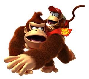 Donkey Kong e Diddy Kong retornam no remake de 'Donkey Kong Country Returns 3D' para o 3DS (Foto: Divulgação/Nintendo)