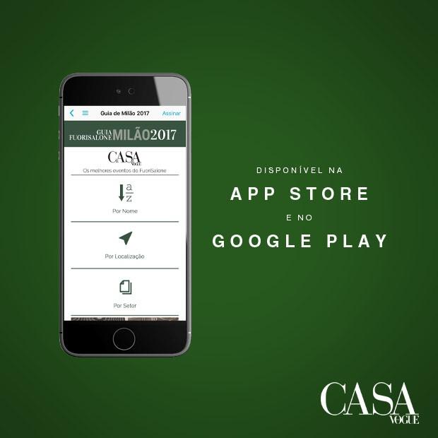 App Casa Vogue (Foto: Casa Vogue)