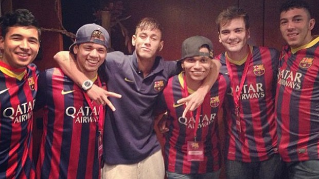 Joclécio neymar esporte espetacular (Foto: Reprodução)