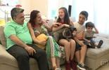 Família carioca é exemplo de superação em tempos de crise