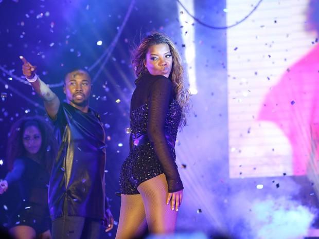 Ludmilla grava participaçaõ especial em Babilônia (Foto: Carol Caminha/Gshow)