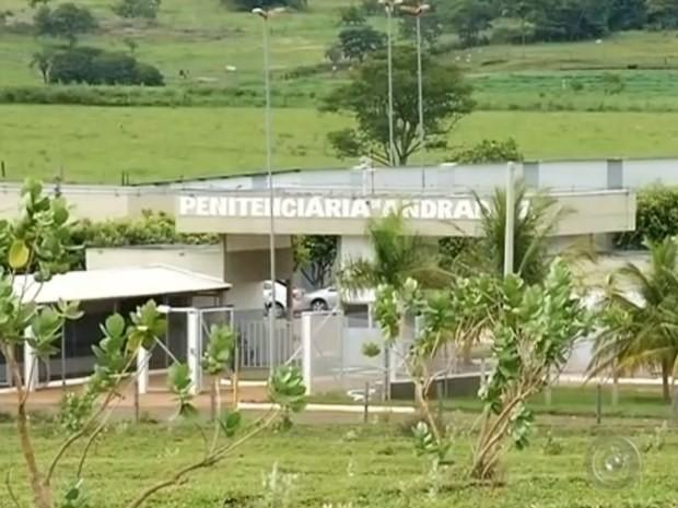 Penitenciária de Andradina (Foto: Reprodução / TV TEM)