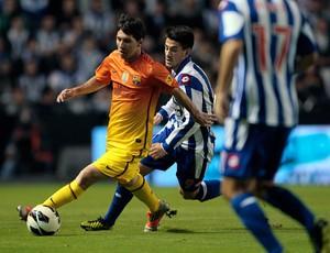 Messi Barcelona x La Coruna (Foto: AP)