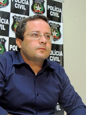 Marcelo Arruda delegado  (Foto: Renan Koerich)