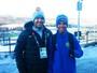 Promessa de projeto social de SP estreia no esqui cross em Lillehammer