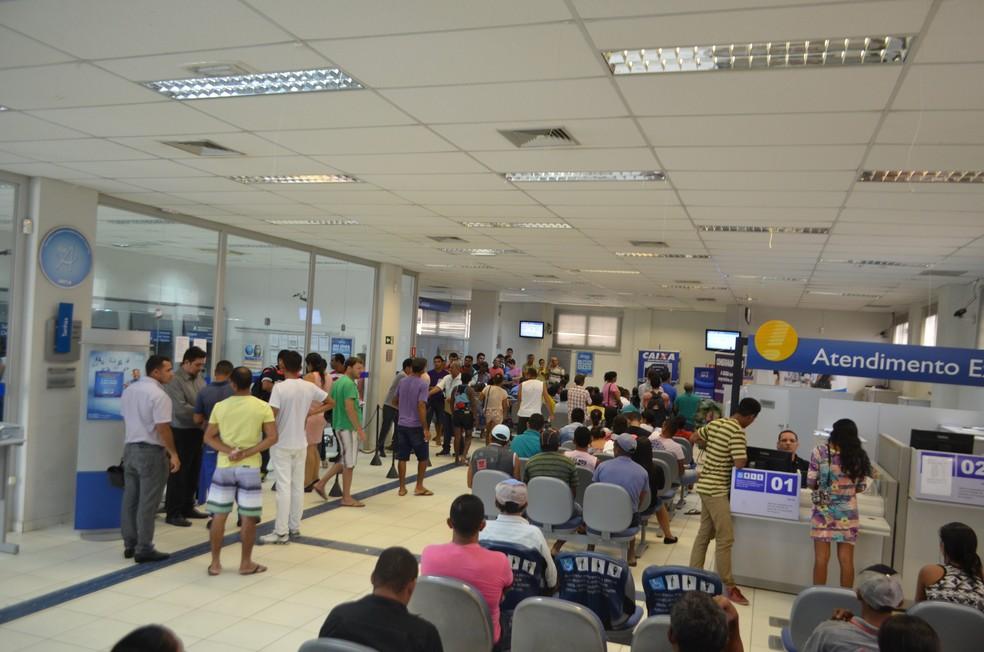 No Rio Grande do Norte, 15 agências serão abertas neste sábado (10). (Foto: Adelcimar Carvalho/G1)