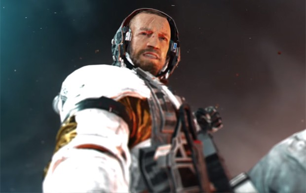 Conor McGregor interpreta vilão no game de tiro 'Call of Duty: Infinite Warfare' (Foto: Reprodução/YouTube/Call of Duty)