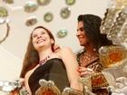 'Minha filha está em paz', diz Solange Gomes sobre o fim da briga com ex