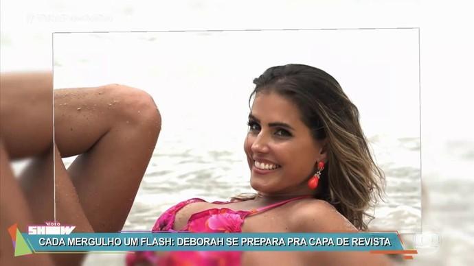 Deborah Secco arrasa em ensaio fotográfico (Foto: TV Globo)