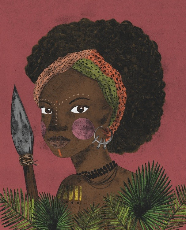 Dandara, guerreira fundamental para o Quilombo dos Palmares (Foto: Alessandra Lemos)