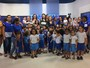 'Amigos da TV Clube' recebe alunos da Creche Escola Príncipe da Paz
