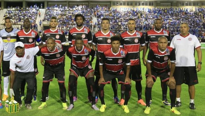 Santa Rita posa antes do jogo com o CSA (Foto: Ailton Cruz/ Gazeta de Alagoas)