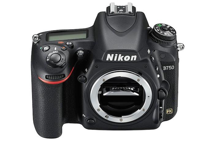 Nikon D750 vista de frente e sem a lente (Foto: Divulgação/Nikon)