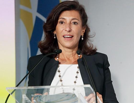 A presidente do BNDES, Maria Silvia Bastos Marques: privatizações devem começar por estatais de saneamento (Foto: Foto: Ivo Gonzalez / Agência O Globo)