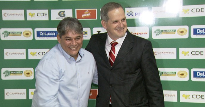 Marcelo Veiga e Gustavo Tavares (Foto: Carlos Velardi/ EPTV)