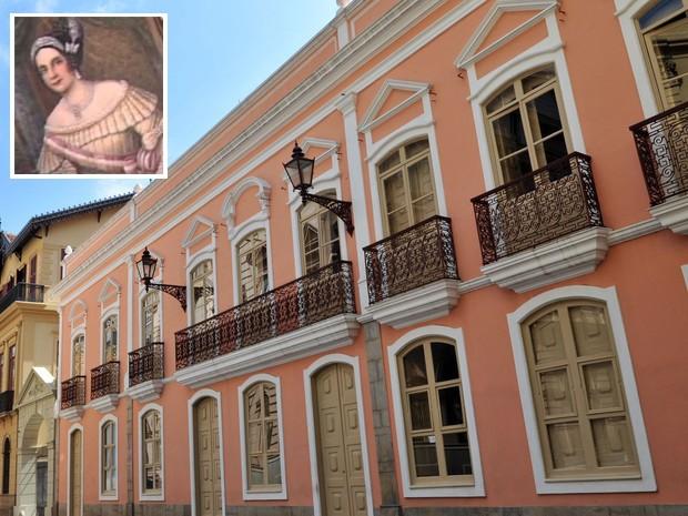 Solar da Marquesa de Santos, onde está instalada a sede do Museu da Cidade, em SP (Foto: Sylvia Masini/Divulgação)