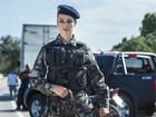 Paolla Oliveira diz que personagem policial pode dar 'medo' nos homens