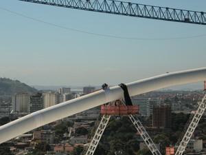 Estádio Olímpico do Engenhão ainda está em obras (Foto: Divulgação/ Riourbe )