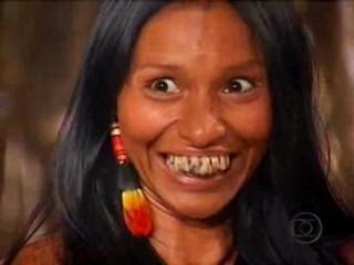Silvia Nobre em 'Uga uga' (Foto: Reprodução/TV Globo)