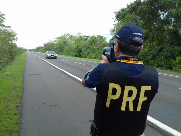 PRF autuou quase 500 motoristas na segunda e terça de carnaval no Paiuí (Foto: Divulgação/PRF)