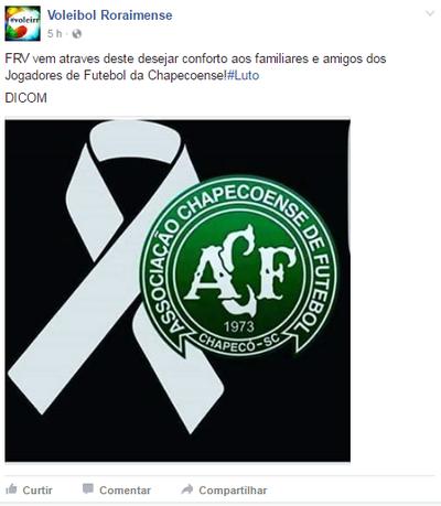 Federação Roraimense de Voleibol (Foto: Reprodução/Redes sociais)