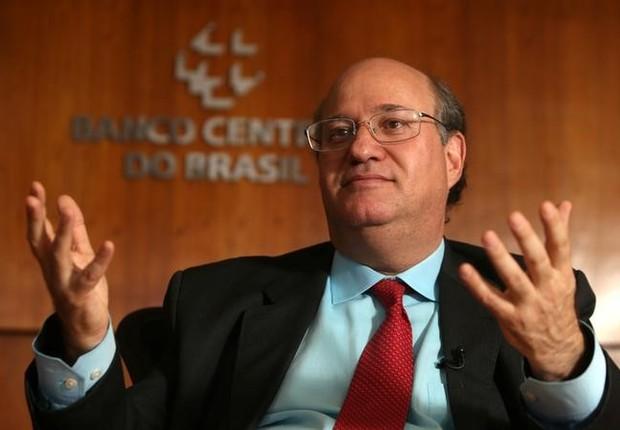 Ilan Goldfajn, presidente do Banco Central do Brasil, durante entrevista (Foto: Adriano Machado/Reuters)