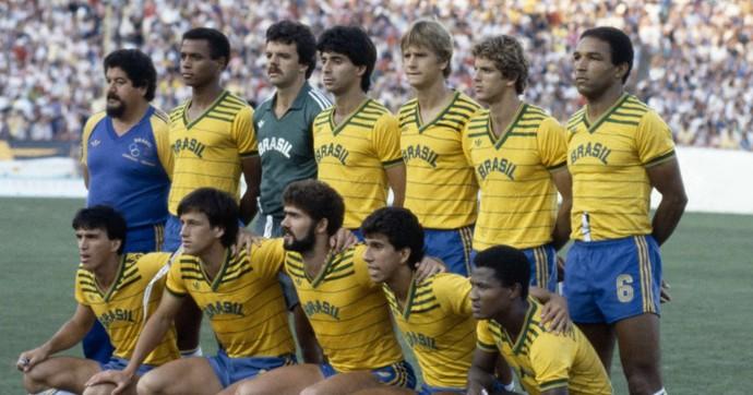 Seleção olímpica 1984 (Foto: Divulgação)