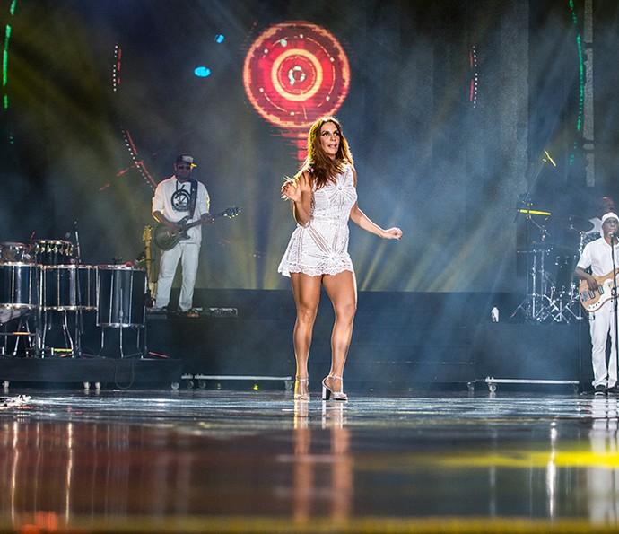 Ivete Sangalo é um furacão nos palcos! (Foto: Ellen Soares/Gshow)