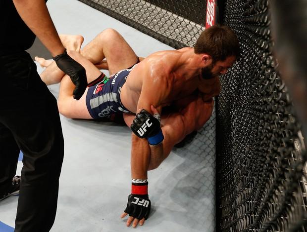 Luke Rockhold x Michael Bisping UFC (Foto: Getty)