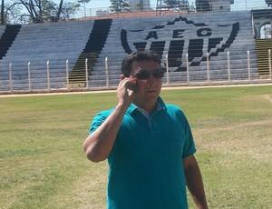Diretor de futebol do Araxá, Marcelo Araxá (Foto: Divulgação/Araxá Esporte Clube)