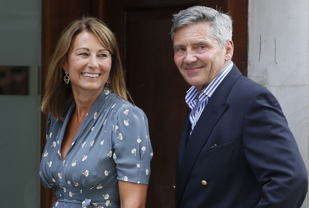 Michael e Carole Middleton , pais de Kate Middleton (Foto: Reuters/ Agência)