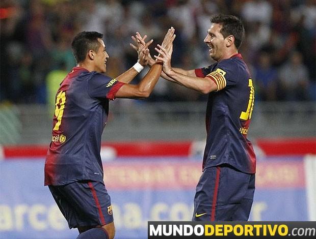 Barcelona, Amistoso, Messi (Foto: Reprodução)
