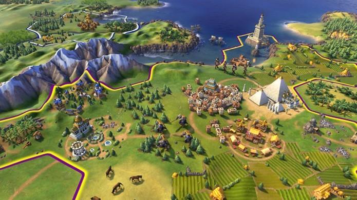 Civilization 6 promete comemorar os 25 anos da série com novas formas de expandir seu império (Foto: Reprodução/Steam)