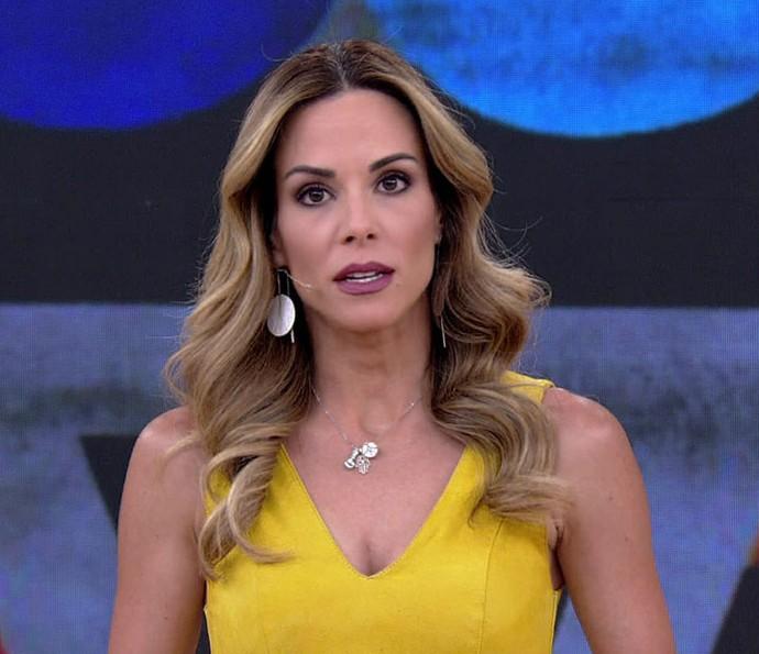 Ana Furtado comenta sobre acidente de carro do filho de Fátima Bernardes no 'Encontro' (Foto: TV Globo)